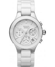 DKNY NY4912 Ladies kammare vit keramik armband klocka