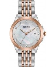 Bulova 98S162 Damer diamanter titta