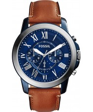 Fossil FS5151 Mens bevilja brun chronographklockan