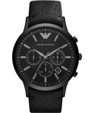 Emporio Armani AR2461 Mens klassiska kronograf svart klocka