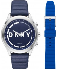 DKNY Minute NYT6104 Ladies woodhaven smartwatch present set