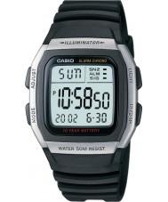 Casio W-96H-1AVES Samling larm chronographklockan