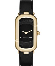 Marc Jacobs MJ1484 Ladies Jacob Black läderrem klocka