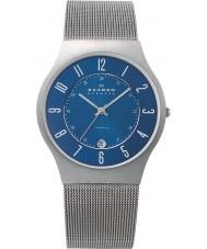 Skagen 233XLTTN Mens klassik titan silver mesh watch