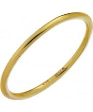 Nordahl Jewellery 125233-52 Ladies guldpläterad förgyllda ring - storlek L