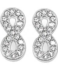 Thomas Sabo H1877-051-14 Damer zirconia bana oändlighet silver örhängen