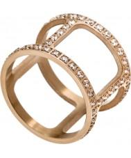 Edblad 3153441915-XS Damer helena cz steg guldpläterad ring - storlek l (xs)