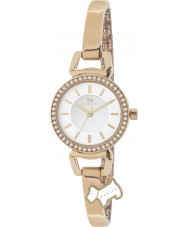 Radley RY4154 Damer sten som ökade guldpläterade halv armband klocka