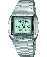 Casio DB-360N-1AEF Mens samling silver stål armband klocka med Tele