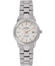 Rotary LB02735-06 Damer klockor hämnare silver stål watch
