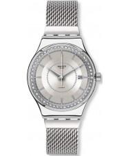 Swatch YIS406GB Sistem stalac silver stål armband klocka