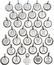 Edblad 116130237-O Charmentity o silver stål små hängande