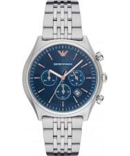 Emporio Armani AR1974 Mens klänning silver stål armband klocka