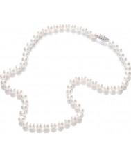 Purity 925 PUR6145 Damer vit pärla 45cm halsband
