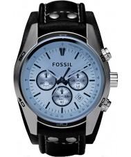 Fossil CH2564 Mens trend blå chronographklockan