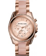Michael Kors MK5943 Ladies blair ökade guldpläterad chronographklockan