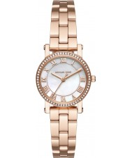 Michael Kors MK3558 Damer Norie ros guldpläterad armband klocka