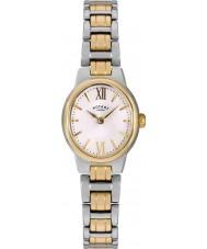 Rotary LB02747-01 Damer klockor Olivie två ton stål watch