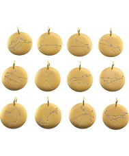 Edblad 31630145-B Charmentity pisces matt guldpläterade zodiac pendant