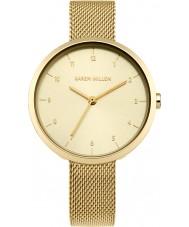 Karen Millen KM135GM Damer guldpläterad armband klocka