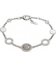 Fossil JF02311040 Damer vintage glitter silver stål armband