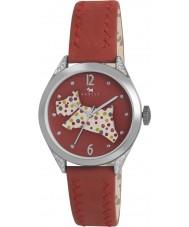 Radley RY2175 Damer röd läderband watch
