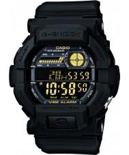 Casio GD-350-1BER Mens g-shock världstid svart klocka