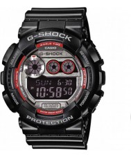Casio GD-120TS-1ER Mens g-shock världstid svart digital klocka