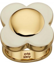 Orla Kiely Ladies daisy ring