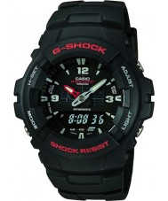 Casio G-100-1BVMUR Mens g-shock kombinationsdisplay watch
