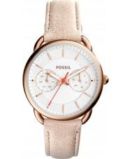Fossil ES4007 Damer skräddarsydda ljusbrunt läder Strap Watch