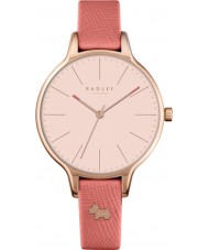 Radley RY2388 Damer Millbank papaya läderrem watch