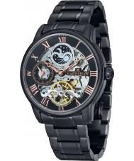 Thomas Earnshaw ES-8006-55 Mens longitud svart ip stål armband klocka