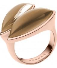 Skagen SKJ0487791-8 Damer Ditte steg guld tonen ring - storlek p
