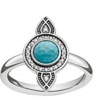 Thomas Sabo TR2090-646-17-54 Damer silver dreamcatcher etno ring - storlek o (EU 54)