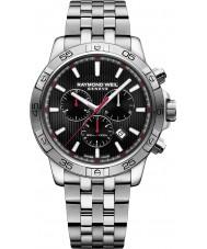 Raymond Weil 8560-ST2-20001 Mens tango silver stål chronographklockan
