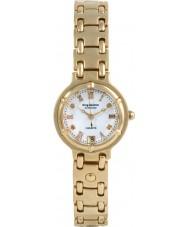 Krug-Baumen 5116DL Charleston 4 diamant vit urtavla guld rem