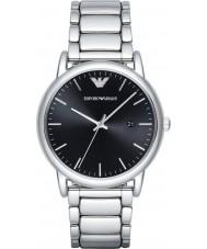 Emporio Armani AR2499 Mens klänning silver stål armband klocka