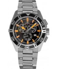 Rotary AGB90088-C-04 Mens Aquaspeed pacific svart silver chronographklockan