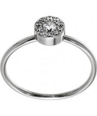 Edblad 41530065-M Ladies thassos mini silver stålring - storlek p (m)