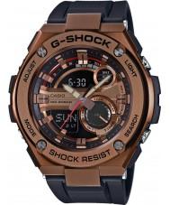 Casio GST-210B-4AER Mens g-shock auto LED-ljus svart harts rem klocka