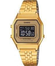 Casio LA680WEGA-9BER Samling klassiska guldpläterade klockan