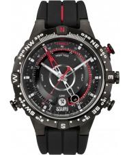 Timex T2N720 Mens alla svarta tidvattnet temp kompass klocka