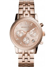 Michael Kors MK6077 Damer ritz ökade guldpläterad chronographklockan