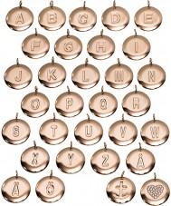 Edblad 116130235-C Charmentity c ökade guldpläterad liten pendel