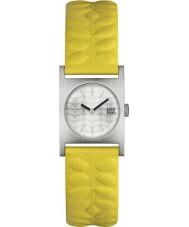 Orla Kiely OK2129 Damer nemo gul läderrem watch
