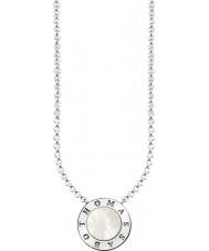 Thomas Sabo KE1492-029-14-L45v Damer silver signatur klassiska halsband med pärlemor