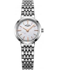 Rotary LB05060-07 Damer klockor Canterbury silver stål armband klocka