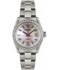 Rotary LB02660-07 Damer klockor havana silver watch