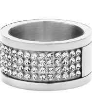 Dyrberg Kern 330961 Damer emily ii silver stål kristall ring